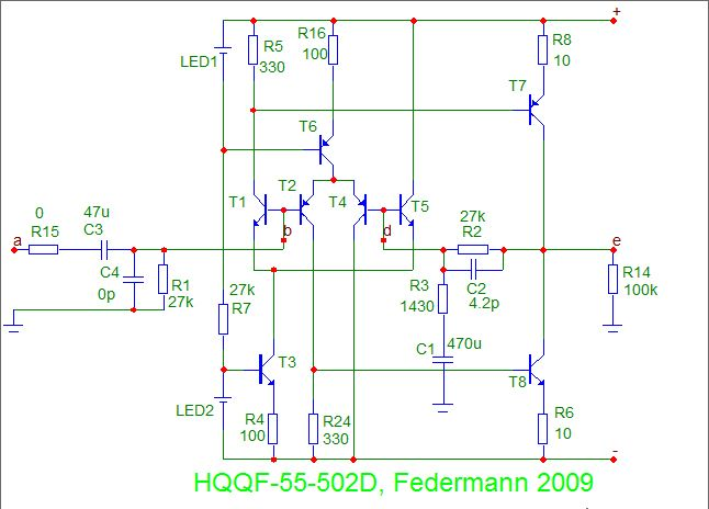 Topology Federmann, HQQF-55 ...