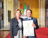 A Caporaso il Premio di laurea Leonardo