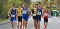 Marcia: 35 km tricolore per Antonelli