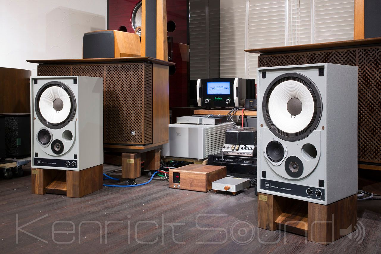 Refurbishing  JBL 4310 and 4412