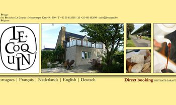 Brugge - Bed & Breakfast - B&B Le Coquin