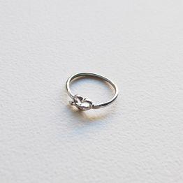 Heart Αrrow Δαχτυλίδι - Ασημί