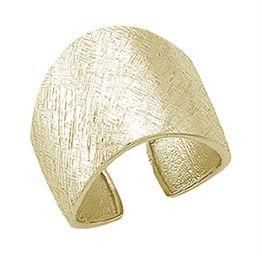 Σαγρέ δαχτυλίδι από επιχρυσωμένο ασήμι