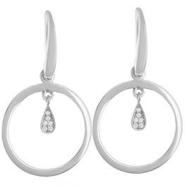 Σκουλαρίκια σκουλαρίκια κρεμαστά από ασήμι με πέτρες ζιργκόν