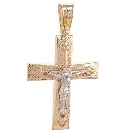 Βαπτιστικός σταυρός χρυσός 14Κ Χρυσός 14 Καράτια   Σταυροί βάπτισης ή αρραβώνα