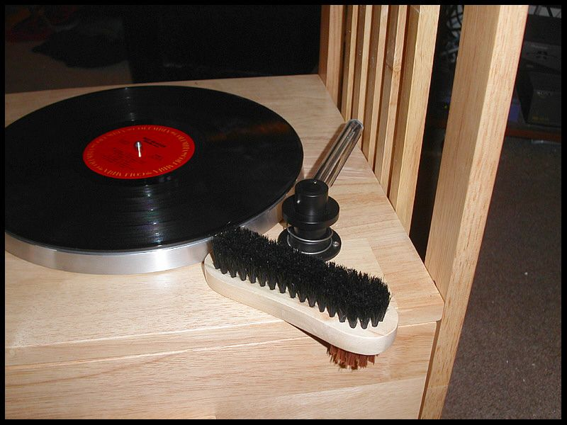My DIY record cleaner.