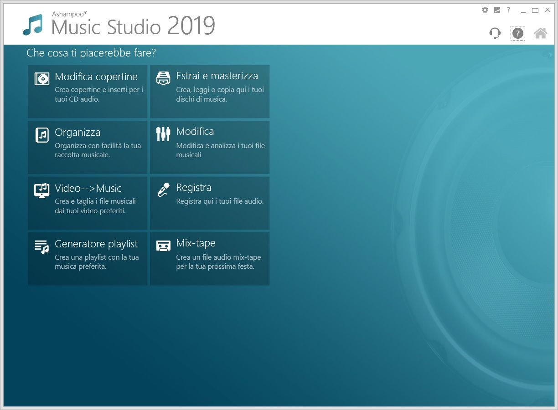 Ashampoo Music Studio 2019 v1.7.0 - ITA