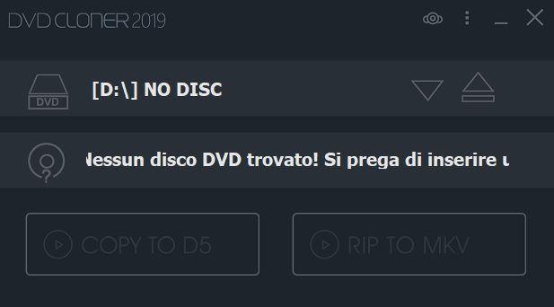 DVD-Cloner Platinum 2019 v16.70 Build 1451 - ITA
