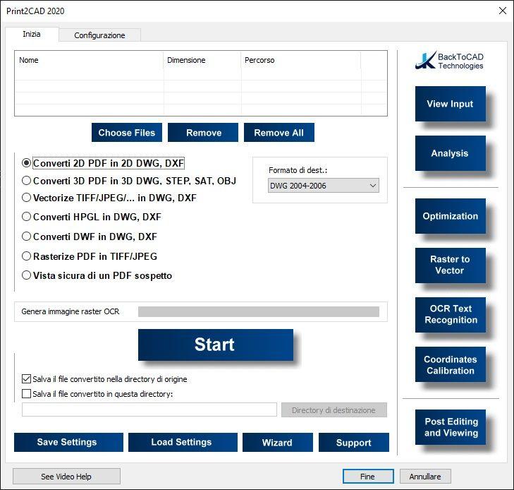 BackToCAD Print2CAD 2021 v21.45 x64 - ITA