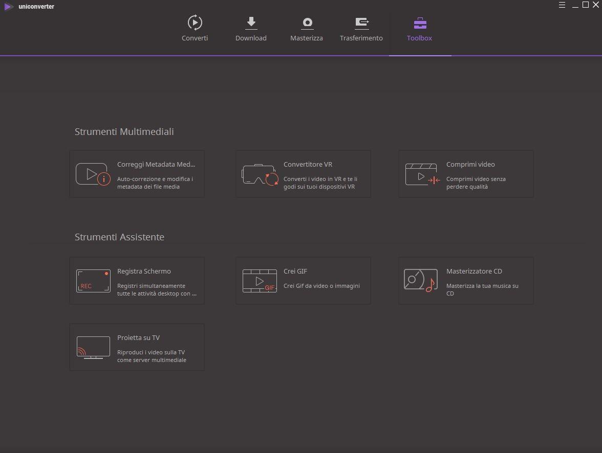 Wondershare UniConverter v11.6.0.17 - ITA