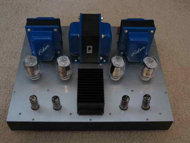 Posted new P-P power amp design