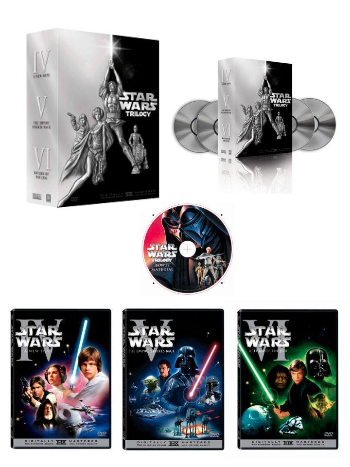 Star Wars La Trilogie - Les BONUS MULTI 576p DVDRIP H264