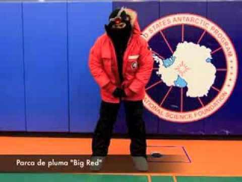 Equipo Extreme Cold Weather (ECW) en el Polo Sur