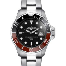 AQUADIVER Water Master - 14584290 , Silver case with Stainless Steel Bracelet