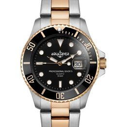 AQUADIVER Water Master - 14584396 , Silver case with Stainless Steel Bracelet