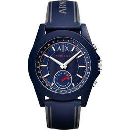 ARMANI EXCHANGE Hybrid Smartwatch - AXT1002, Blue case with Blue Rubber Strap