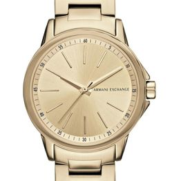 ARMANI EXCHANGE Lady Banks - AX4346, Gold case with Stainless Steel Bracelet