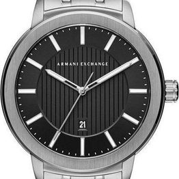 ARMANI EXCHANGE Maddox Men's - AX1455, Silver case with Stainless Steel Bracelet