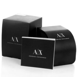 ARMANI EXCHANGE Mens - AX2625, Black case with Stainless Steel Bracelet