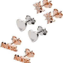 EMPORIO ARMANI Σκουλαρίκια από ανοξείδωτο ατσάλι Gift Set, Rose Gold & Silver EG3415221