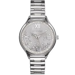 GREGIO Anette Crystals - GR230010, Silver case with Stainless Steel Bracelet