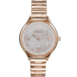 GREGIO Anette Crystals - GR230030, Rose Gold case with Stainless Steel Bracelet
