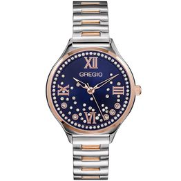 GREGIO Anette Crystals - GR230060, Silver case with Stainless Steel Bracelet