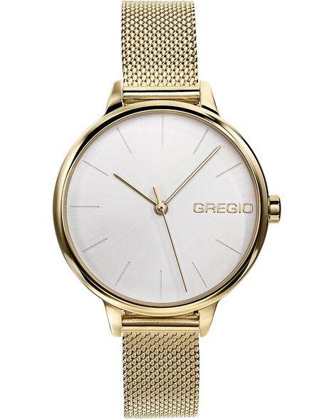GREGIO Fiorella - GR220020, Gold case with Stainless Steel Bracelet