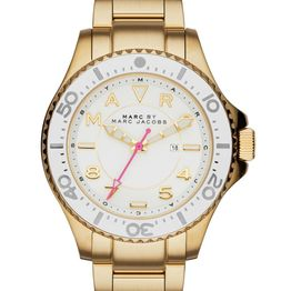 MARC BY MARC JACOBS Dizz - MBM3408, Gold case with Stainless Steel Bracelet