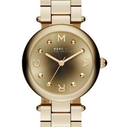MARC BY MARC JACOBS Dotty - MJ3448, Gold case with Stainless Steel Bracelet