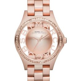 MARC BY MARC JACOBS Henry Glitz - MBM3339, Rose Gold case with Stainless Steel Bracelet