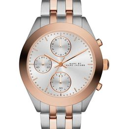 MARC BY MARC JACOBS Peeker Chronograph - MBM3369, Silver case with Stainless Steel Bracelet
