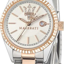 MASERATI Competizione Ladies - R8853100504 Silver case with Stainless Steel Bracelet