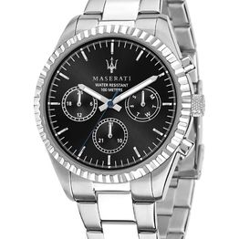 MASERATI Competizione - R8853100023 Silver case with Stainless Steel Bracelet