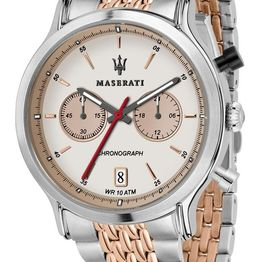 MASERATI Legend Chronograph - R8873638002 Silver case with Stainless Steel Bracelet