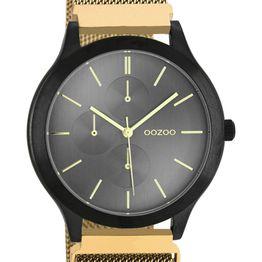 OOZOO Q3 - C10689, Black case with Stainless Steel Bracelet