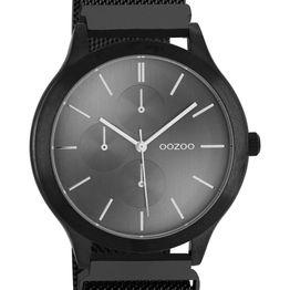 OOZOO Q3 - C10690, Black case with Stainless Steel Bracelet
