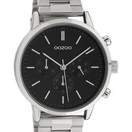 OOZOO Timepieces - C10546, Silver case with Stainless Steel Bracelet