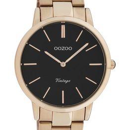 OOZOO Vintage - C20024, Rose Gold case with Stainless Steel Bracelet