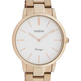 OOZOO Vintage - C20036, Rose Gold case with Stainless Steel Bracelet