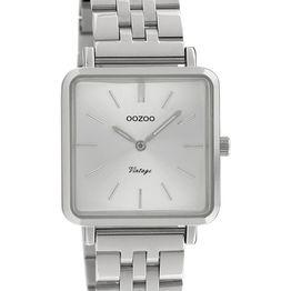 OOZOO Vintage - C9950, Silver case with Stainless Steel Bracelet