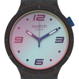 SWATCH Big Bold Futuristic - SO27B121 Grey case with Grey Rubber Strap