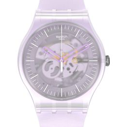 SWATCH New Gent Pink Mist - SUOK155 Pink case with Pink Rubber Strap