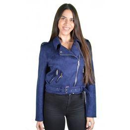 Γυναικείο Jacket Βελουτέ Μπλε