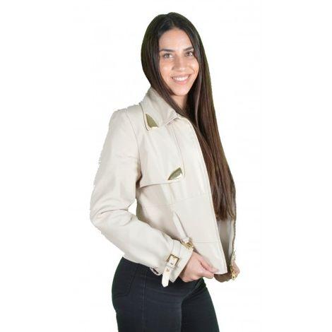 Γυναικείo Μπουφάν Μπεζ - Gizzia