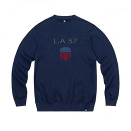 57101-3 LA57 SWEATSHIRT - NAVY