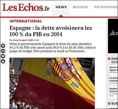 El artículo en Les Echos