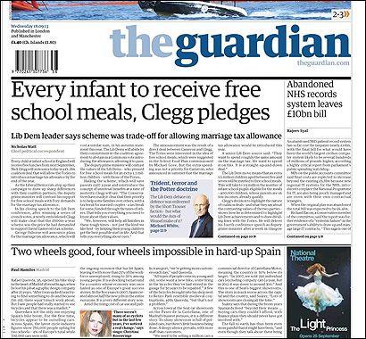 El artículo de The Guardian