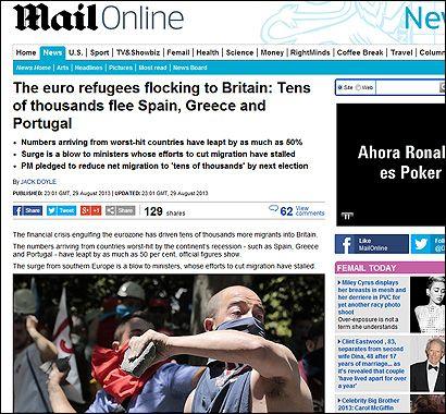 El articulo del Daily Mail