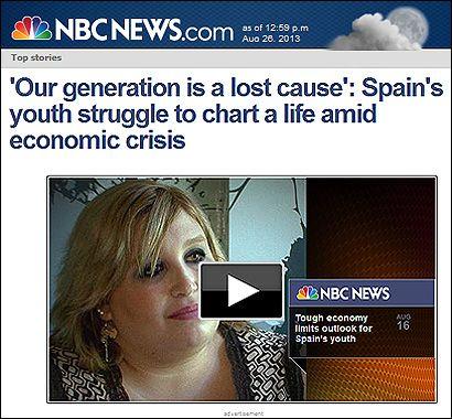 El reportaje de la NBC